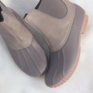 Shoes - Rainboots Slip On No Lace Duck Boots Rain Boots